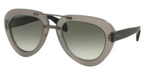 Prada PR 28RS UBV0A7 GREY GRADIENTMATTE DARK GREY TRASP