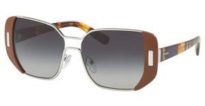 Prada PR 59SS USA5D1 GREY GRADIENTSILVER/BROWN
