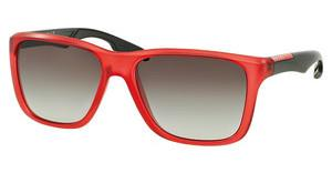 Prada Sport PS 04OS UAA0A7 GREY GRADIENTMATTE RED