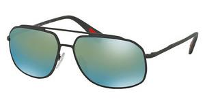 Prada Sport PS 56RS TIG4J2 MIRROR GREENGREY RUBBER