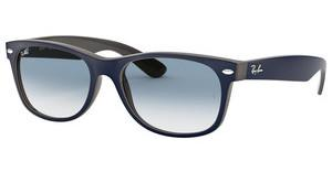 Ray-Ban RB2132 63083F MATTE BLUE ON OPAL BROWN