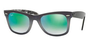 Ray-Ban RB2140 11994J MIRROR GRADIENT GREENTOP LIGHT GREY GRAD ON GREY