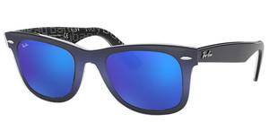 Ray-Ban RB2140 120368 MIRROR BLUETOP BLUE GRAD ON LIGHT BLUE