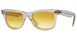 Ray-Ban RB2140 6059X4 YELLOW GRADIENT BROWN PHOTODEMI GLOSS BEIGE