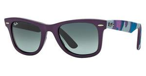 Ray-Ban RB2140 606471 GREY GRADIENT AZUREMATTE VIOLET