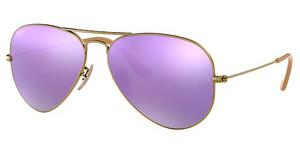 Ray-Ban RB3025 167/1R GREY MIRROR LILAC POLARBRUSHED BRONZE DEMISHINY