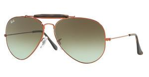 Ray-Ban RB3029 9002A6 GREEN GRADIENT BROWNSHINY MEDIUM BRONZE
