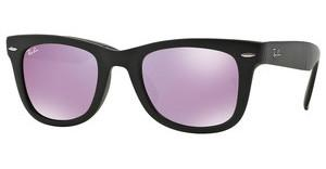 Ray-Ban RB4105 601S4K GREY MIRROR LILACMATTE BLACK