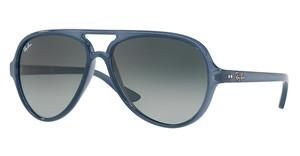 Ray-Ban RB4125 630371 LIGHT GREY GRADIENT DARK GREYTRASPARENT LIGHT BLUE