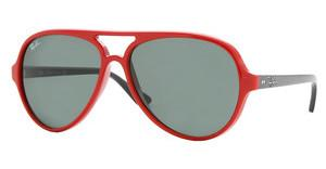 Ray-Ban RB4125 730 RED CRYSTAL GREEN