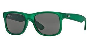 Ray-Ban RB4165 897/87 GREYTRASPARENT GREEN RUBBER