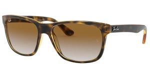Ray-Ban RB4181 710/51 CRYSTAL BROWN GRADIENTLIGHT HAVANA