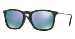 Ray-Ban RB4187 60774V GREY MIRROR VIOLETFLOCK GREY