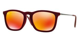 Ray-Ban RB4187 60786Q RED MULTILAYERFLOCK BORDEAUX