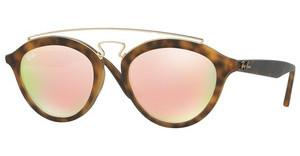 Ray-Ban RB4257 60922Y LIGHT BROWN MIRROR PINKMATTE HAVANA