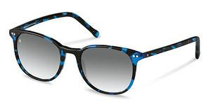 Rocco by Rodenstock RR304 E sun protect - smokx grey gradient - 68%blue havana