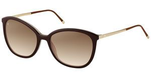 Rodenstock R7404 D sun protect brown gradient - 77%dark brown layered