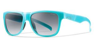Smith LOWDOWN SLIM 6XT/9O DARK GREY SFSLD AZURE (DARK GREY SF)