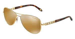 Tiffany TF3047K 6093W4 LIGHT BROWN MIRROR GOLDGOLD