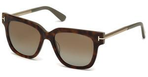 Tom Ford FT0436 56H braun polarisierendhavanna