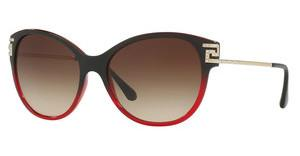 Versace VE4316B 507513 BROWN GRADIENTTRANSP RED GRADIENT BLACK