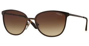 Vogue VO4002S 934S13 BROWN GRADIENTMATTE BROWN BURNT