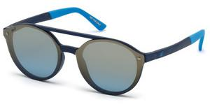 Web Eyewear WE0184 91X blau verspiegeltblau matt