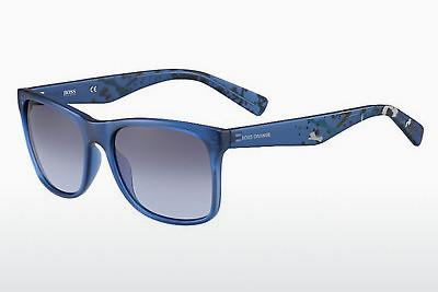 Sonnenbrille Boss Orange BO 0211/S F0N/LL - Blau, Flowers
