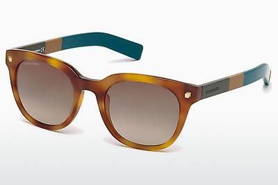 Sonnenbrille Dsquared DQ0208 53K - Havanna, Yellow, Blond, Brown
