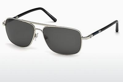 Sonnenbrille Mont Blanc MB508S 16A - Silber, Shiny, Grey