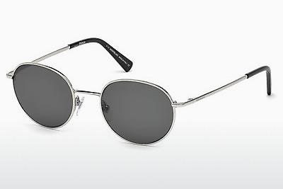 Sonnenbrille Mont Blanc MB550S 16N - Silber