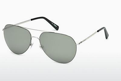 Sonnenbrille Mont Blanc MB595S 16A - Silber, Shiny, Grey