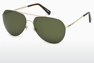 Sonnenbrille Mont Blanc MB595S 28N - Gold