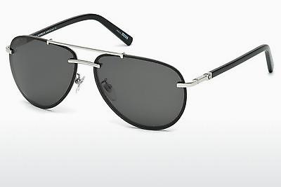Sonnenbrille Mont Blanc MB596S 16A - Silber, Shiny, Grey