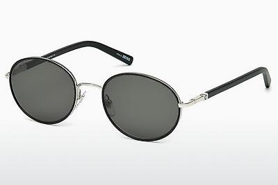 Sonnenbrille Mont Blanc MB598S 16A - Silber, Shiny, Grey