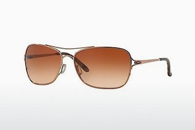Sonnenbrille Oakley CONQUEST (OO4101 410102) - Rosa, Gold