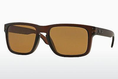 Sonnenbrille Oakley HOLBROOK (OO9102 910203) - Braun, Rootbeer