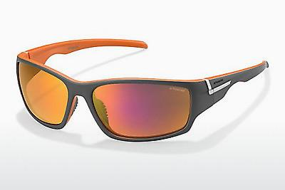 Sonnenbrille Polaroid Sports P7407 OGH/AI - Grau, Orange