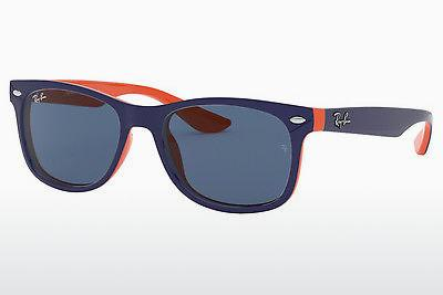 Sonnenbrille Ray-Ban Junior RJ9052S 178/80 - Blau, Orange