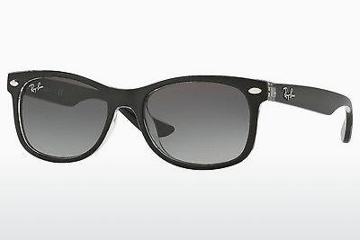 Sonnenbrille Ray-Ban Junior RJ9052S 702211 - Schwarz, Transparent