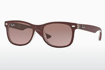 Sonnenbrille Ray-Ban Junior RJ9052S 702414 - Rot, Transparent