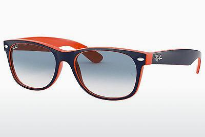 Sonnenbrille Ray-Ban NEW WAYFARER (RB2132 789/3F) - Blau, Orange