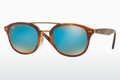 Sonnenbrille Ray-Ban RB2183 1128B7 - Braun, Havanna, Orange