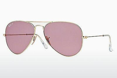 Sonnenbrille Ray-Ban AVIATOR LARGE METAL (RB3025 001/15) - Gold