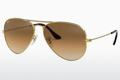 Sonnenbrille Ray-Ban AVIATOR LARGE METAL (RB3025 001/51) - Gold