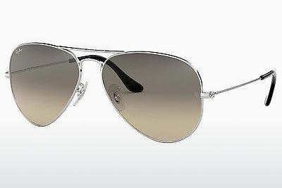Sonnenbrille Ray-Ban AVIATOR LARGE METAL (RB3025 003/32) - Silber