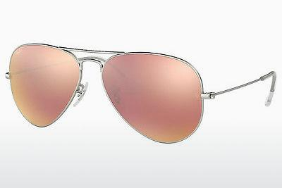 Sonnenbrille Ray-Ban AVIATOR LARGE METAL (RB3025 019/Z2) - Silber