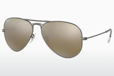 Sonnenbrille Ray-Ban AVIATOR LARGE METAL (RB3025 029/30) - Grau, Rotguss