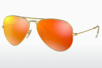 Sonnenbrille Ray-Ban AVIATOR LARGE METAL (RB3025 112/69) - Gold