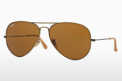 Sonnenbrille Ray-Ban AVIATOR LARGE METAL (RB3025 177/33) - Gold